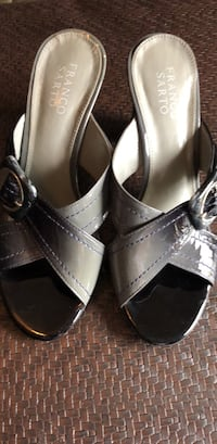 Franco Sarto gray hombre open heels Woodbridge, 22193