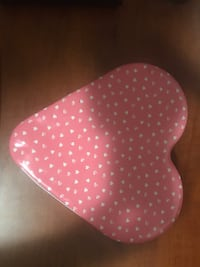 Heart shaped tin with lotion, sponge and soap Waterloo, N2J 4S7