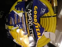 Two Goodyear Max Lite 75 ft hoses null