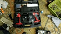 black and red power tool set East Canton, 44730