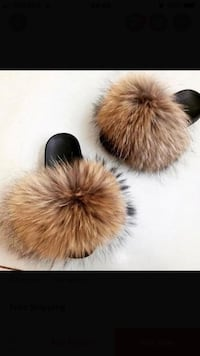 Fur slides Ajax