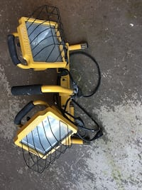 Twin Halogen Work Light with Telescopic Stand Surrey, V3Z 3Y4