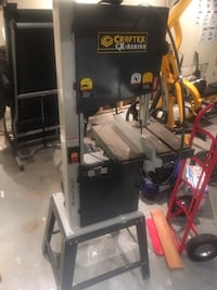 Cx115 bandsaw from busy bee tools, come with 2 blades for wood and 2 blades for steel. Don't use it and ta asking up space. Has about 10 hours of use, $800 and bring a friend as this bitch is heavy and in the basement  Edmonton, T6E 2M5