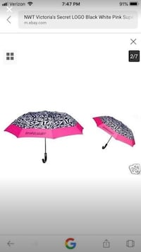 New. Victoria secret logo umbrella Stockton, 95203
