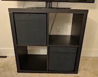 IKEA KALLAX Shelf Unit w/ 2 Boxes Rockville, 20852