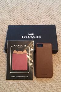 iPhone 7 Coach phone case and phone wallet Falls Church, 22046