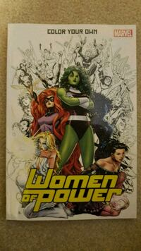 Women of Power - Adult Coloring Book  Calgary, T2Z 4W6