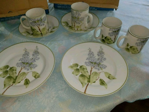 Porcelain dishes NEW