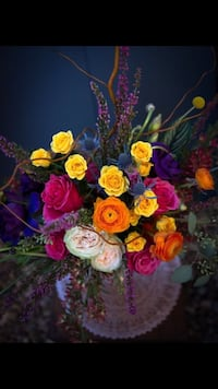 Fresh Flower Arrangements as holiday centerpieces or other.