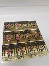 REDUCED Michael Jordan signed cards Fort Myers, 33916