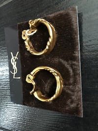 Vintage Yves Saint Laurent earrings Langley, V1M 3T3