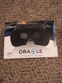 Oracle virtual reality headset