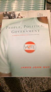 People, Politics and Government by James John Guy book