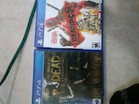 two Sony PS4 game cases New Orleans, 70118