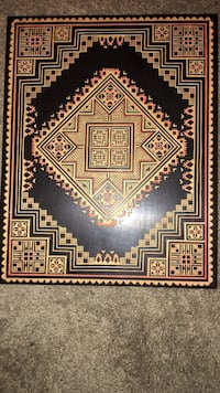 Large hand crafted wooden box