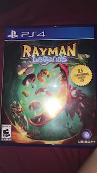Ps4 game Rayman