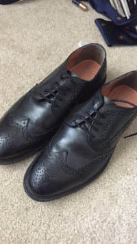 Black leather dress shoes size 9 1/2 Garden Ridge, 78266