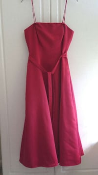 Prom dress red size 8 Brand Papell Elgin, 78621