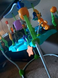 baby's blue and green jumperoo Tallmadge, 44278