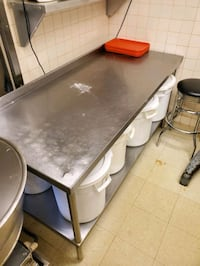 Various stainless steel tables Westmont, 60559