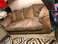 Tan couch - must pick up Longmont, 80504