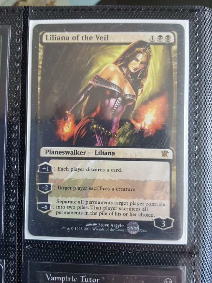 graphic regarding Printable Mtg Proxies identified as Liliana of the veil MTG proxy