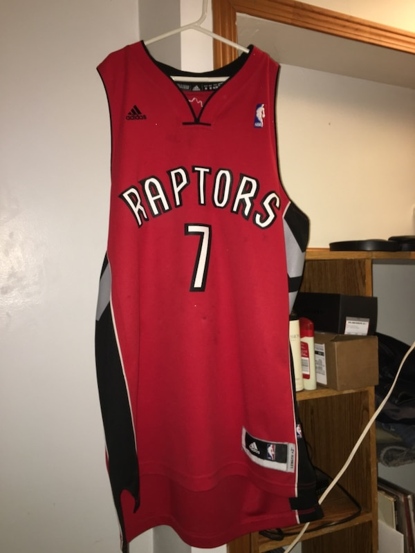 sneakers for cheap f6959 4f705 Signed Kyle Lowry Raptors Jersey