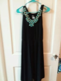 women's black and turquoide beaded dress Martinsburg, 25401