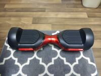 black and red smart balance wheel