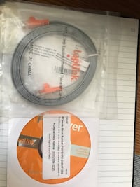 PCmover CD and Ethernet transfer cable- never used Aurora, L4G 5M4