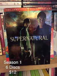 ##    Supernatural The Complete 1st Season