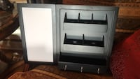 wall  Organizer with white board side to write on hangers for keys compartments for phones etc. Lafayette, 70506