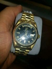 Rolex 18k gold with vvs  Toronto, M1S 2S7