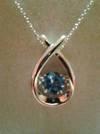 unstoppable love blue topaz - sterling silver Ontario, M9W 1Z2