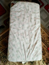 white and gray floral mattress Dayton, 45403