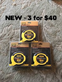 Stanley Fat Max 100'  3 NEW for $30 Annandale, 22003