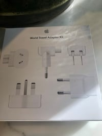 Original apple travel charger (NEW) Vancouver, V5X 1H2