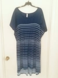 blue and gray stripe scoop-neck sleeveless dress Tucson, 85710
