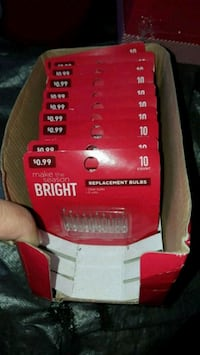 New Christmas lights replacements