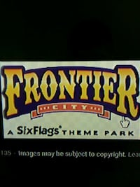 Frontier City - Six Flags! 5/12 Only!! Yukon, 73099