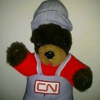 Cn rail collector bear plush toy plush plushie Edmonton, T6X 1J9