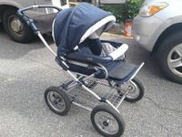 baby's black and gray jogging stroller New York, 11235