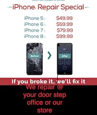 If home Lcd repair at your home wholesale Lcd and parts battery iPhone  Toronto, M1P 5H4
