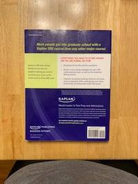 Kaplan GRE exam verbal workbook Baltimore, 21230