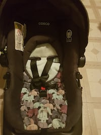 baby's black and gray car seat carrier Hamilton