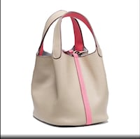 Brand new genuine leather beige and rose color - pick up Downtown Calgary, T2R 0B2