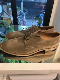 par brune suede lav-top sneakers Oslo, 0552
