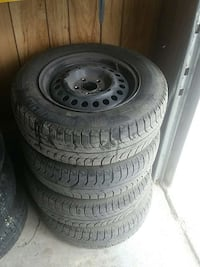 Michelin X-ice tires and rims  Beausejour, R0E 0C0