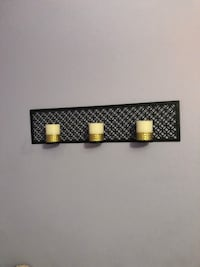 black steel wall candle holders Chesterfield, 63017