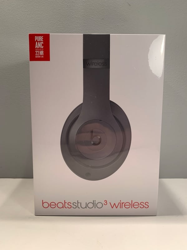 Brand new sealed Beats studio 3 wireless Bluetooth over the ear headphones   0